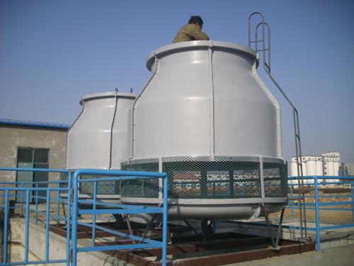 玻璃钢冷却塔中水温越来越高如何解决